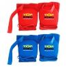 ELASTIC KNEE PAD THAI BOXING BLUE / RED