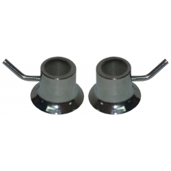STEEL SECURITY FASTENERS. PAIR