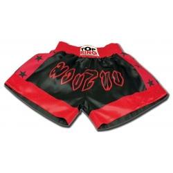 THAI SHORTS BLACK / RED