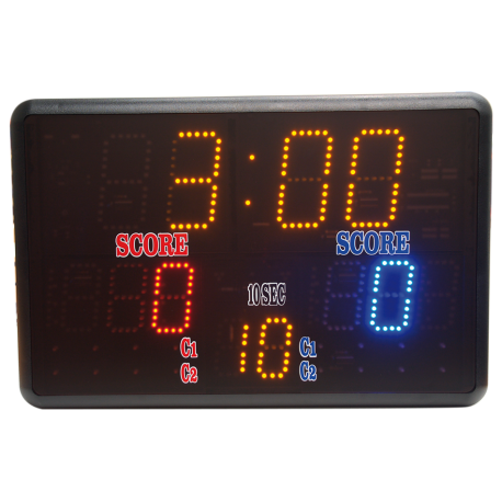KARATE-KUMITE COMPETITION DIGITAL SCOREBOARD