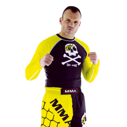 "Pantalón/Bermuda MMA ""TOP-RING ORANGE-SPIRIT"""