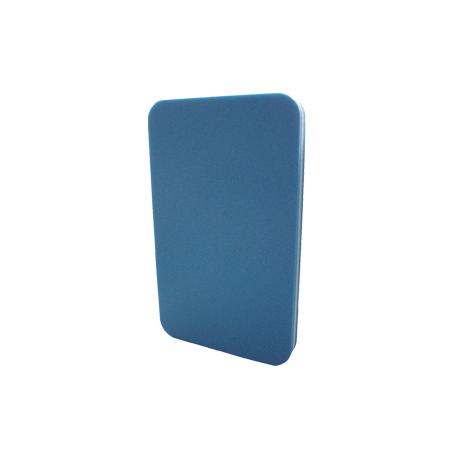 Tabla iniciación natación 38 x 23 x 3 cm. espuma poliofílica