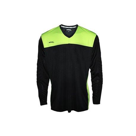 Camiseta Softee FULL PORTERO Inf. Negro-Amarillo