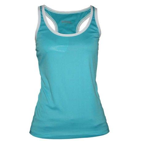 Camiseta Softee FULL Tirantes Mujer color Azul-Bco