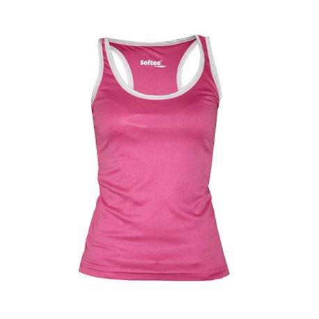 Camiseta Softee FULL Tirantes Mujer color Rosa-Bco