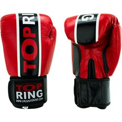 "GUANTE PIEL ""Top-Ring Red Spirit"""