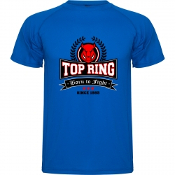 CAMISETA TÉCNICA TOP RING AZUL ROYAL