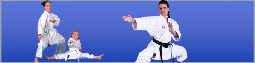 Kimonos Karate entrenamiento