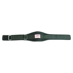 NEOPRENE BODY BUILDING BELT. BLACK