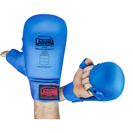 APPROVED BLUE MITTS WITH THUMB PROTECTION