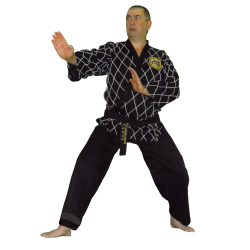 HAPKIDO DIAMONDS BLACK UNIFORM