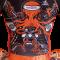 """Camiseta MMA """"TOP-RING ORANGE-SPIRIT"""""""