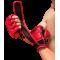 Guantilla doble cierre velcro MMA y JIU JITSU piel