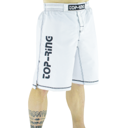 Pantalón/Bermuda MMA TOP-RING Blanco