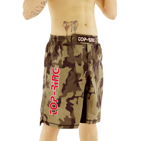 Pantalón/Bermuda MMA TOP-RING CAMUFLAJE Verde