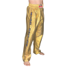 FULL TROUSERS IN SATIN GOLDEN or SILVER