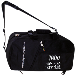 Bolso / Mochila bordada con logos JUDO