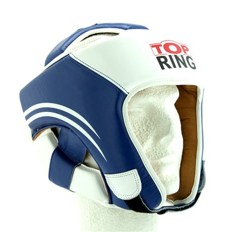 CASCO PIEL TOP-RING AZUL
