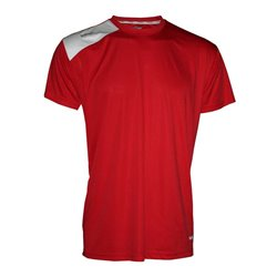 Camiseta Softee FULL color Rojo-Blanco