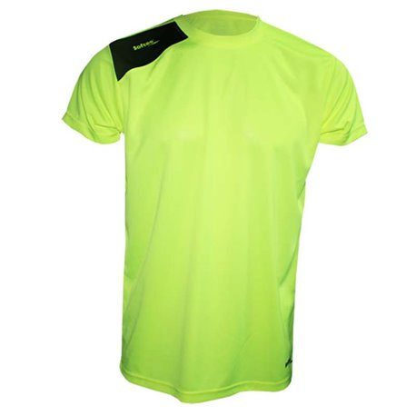 Camiseta Softee FULL Infantil Amarillo Fluor