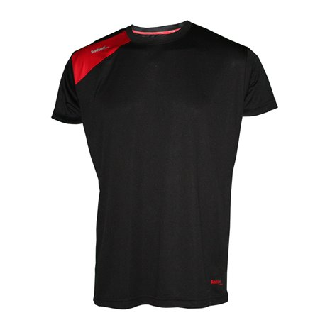 Camiseta Softee FULL color Negro-Rojo