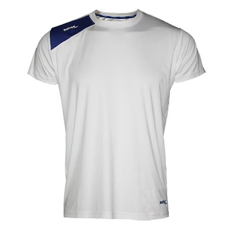 Camiseta Softee FULL Infantil Blanco-Royal