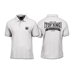 POLO TOP RING NUEVO LOGO BLANCO