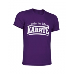 CAMISETA TECNICA PURPURA KARATE