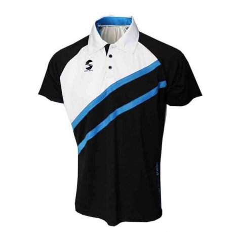 POLO PADEL SOFTEE START NEGRO/BLANCO/ROYAL