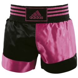 ADIDAS KICKBOXING SHORT DIAMOND NEGRO/ROSA