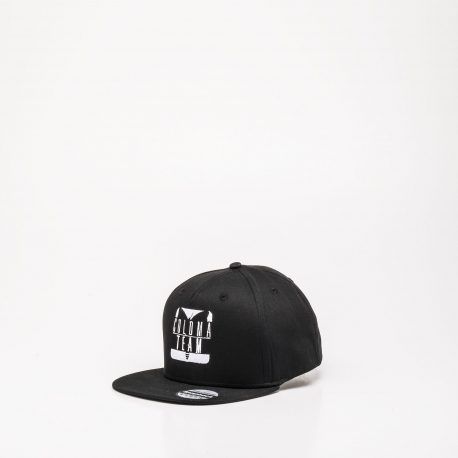 GORRA NEGRO ADULTO COLOMA TEAM