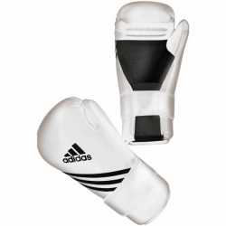 ADIDAS GUANTE SEMI CONTACT BLANCO
