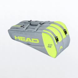 PALETERO HEAD CORE PADEL COMBI GRIS/LIMA